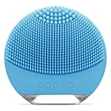 FOREO LUNA go Portable and Personalized Facial Cleansing Brush for...