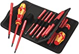 Most regularly with 2 specific screwdrivers Includes 2 x Kraftform insulated handles and 15 interchangeable 17 Piece VDE Insulated set is designed for the Professional User Kraftform Kompakt VDE 60i+iS/62i/65i/67i/17 Multi-component VDE Kraftform han...