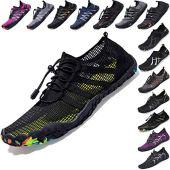 Mens Women Water Sport Shoes Barefoot Quick-Dry Aqua Socks for Beach Swim Surf Yoga Exercise, 6 M US Women / 5 M US Men
