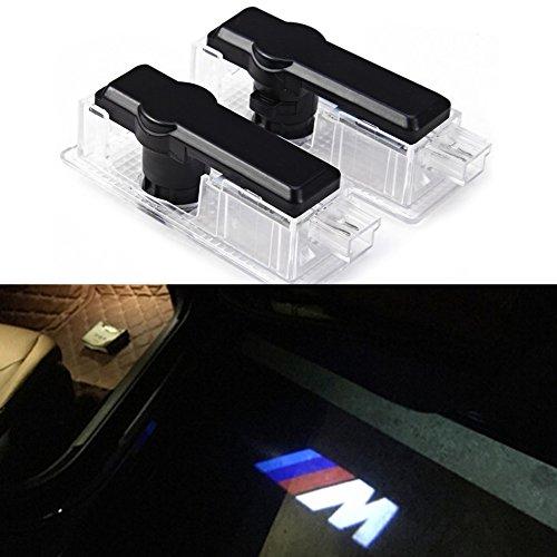 Inlink 2 pezzi logo Porta Illuminazione, Logo Porta Illuminazione 12 V auto porta proiezione luce