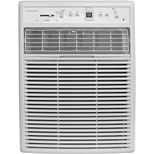 Frigidarie FFRS1022S1 Heavy-Duty Window Air Conditioner for Slider or Casement windows - 10,000 BTU