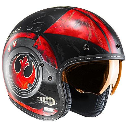 HJC(エイチジェイシー) バイクヘルメット ジェット (サイズ:L) STARWARS FG-70s POE DAMERON(ポー・ダメロン) HJH142