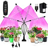 Niello Lampe de Croissance pour Plantes 40 W 80 LED avec minuterie...