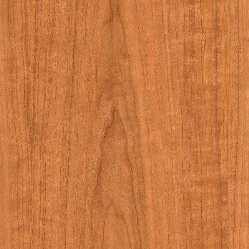 "WOOD-ALL Cherry Wood Veneer Sheet, 'A' Grade Plain Sliced/Flat Cut, 24"" x 96"" with a 10 Mil Paperback –..."