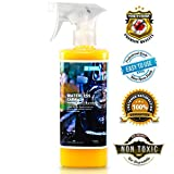 Goclean Waterless Car Wash and Wax – Premium Detailer Spray Wax for Car Cleaning, Shining, Protecting – Non-Toxic, Eco-Friendly, Fully Waterless Car Wash Formula – Rinseless Detailing Spray 24oz