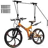 TORACK Bike Ceiling Mount Lift Hoist Bicycle Hanger Rack for Indoor Overhead Garage Ceiling Storage