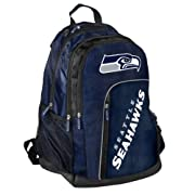 "Padded laptop pocket with zippered mesh front pocket Officially licensed logos and colors Dimensions: 19.5"" x 14"" x 10"" Made from textured PVC fabric with 3M reflective piping Mobile device pocket with headphone opening Padded laptop pocket with zipp..."