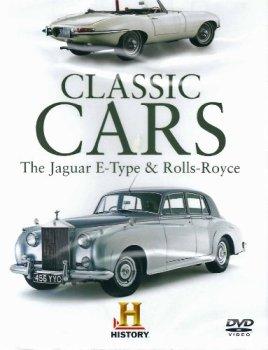 Classic Cars The Jaguar E-Type & Rolls-Royce [DVD]