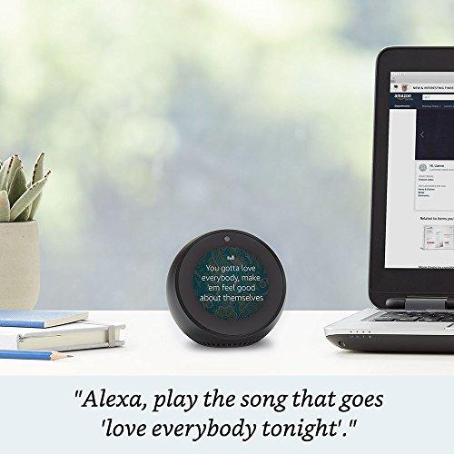 Product Image 2: Echo Spot - Smart Alarm Clock with Alexa - Black