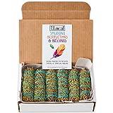 JL Local 6 Juniper Sage Bundles 4 Inch | Sage Smudge Sticks for Smoke Cleansing, Smudging & Home Cleansing | Sage Smudge Kit