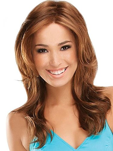 Adriana - Smart Lace Front Hand Tied Monofilament Wig by Jon Renau, 14/26S10 3