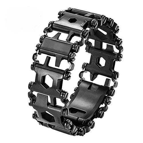 Multi Tool Bracelet for Men, 29 in 1 Stainless Steel...
