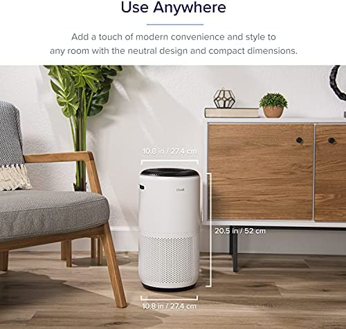 LEVOIT Air Purifier for Home Large Room, Smart WiFi and Alexa Control, H13 True HEPA Filter for Allergies, Pets, Smoke, Dust, Auto Mode, PM2.5 Display, Core 400S, 403 sq.ft, White 18