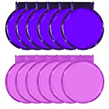 Round Mirror - Set of 12 - Assorted Colors - Pink and Purple