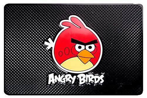 Genxtra Car Dashboard Non Slip, Anti Slip, Anti Skid Mats/Pad (Size- 7.5' x 5') (Angry Bird Red)