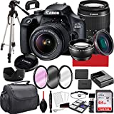 Canon EOS 4000D DSLR Camera with 18-55mm f/3.5-5.6 Zoom Lens, 64GB Memory,Case, Tripod and More...