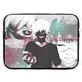 Tokyo Ghoul Funda para portátil 15 ″ Funda para Ordenador Maletín para Tableta Mensajero portátil Impermeable