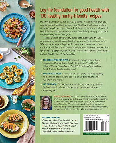 Everyday Healthy Cookbook: Recipes and a Meal Plan to Make Healthy Eating Easy 5