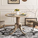 Safavieh Home Forest Traditional Rustic Natural Drop Leaf Dining Table