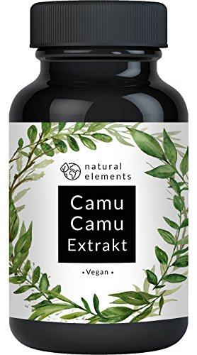 Natural Elements Camu Camu capsules | 500 mg extract | 120 capsules | Vegan product