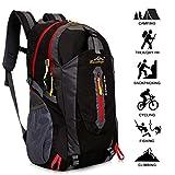 Baishiqi Sac à dos léger polyvalent résistant à l'eau Pour le camping, le trek, le cyclisme, les...