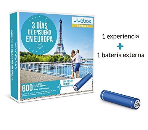 VIVABOX Caja Regalo -3 DIAS DE ENSUEÑO EN Europa- 600...