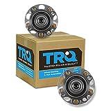 TRQ Rear Wheel Bearing Hub Assembly Pair Set Of 2 For Acura TSX Honda Accord
