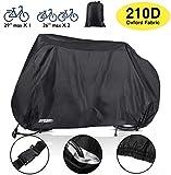 Audew Housse de Vélo, Housse de Protection Vélo 210D Tissu Oxford Imperméable Anti Poussière/UV/Pluie avec...