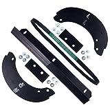 Honda HS520/720 Snowblower Paddle (06720-V10-030), Scraper (76322-V10-020), V-Belt (22431-V10-013) Kit
