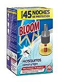 Bloom Recambio Repelente Eléctrico Líquido Contra Mosquitos Común y Tigre,...