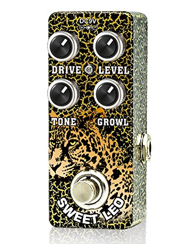 Xvive Sweet Leo Analog OverDrive Guitar Effect Pedal True Bypass