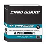 CardGuard Premium 3-Ring 3' Card Binder Including 100 Starter Series 9-Pocket Pages
