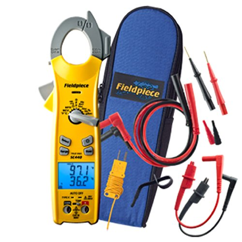 Fieldpiece SC440 True RMS Clamp Meter with...