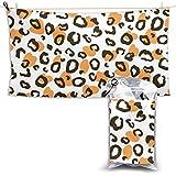 XCNGG Toallas de baño de Secado rápido Toallas de baño para el hogar Toallas Microfiber Beach Towel Extra Large Animal Leopard Skin Texture Print Pattern Quick Dry Towel 28.7 x 51 Inch