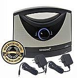 Serene Innovations TV-SB Wireless TV Listening Speaker w/Free Extra Power Adapter & EZ Living Aids Drink Coaster