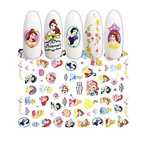 Kawaii Cute Cartoon for Women, Girls,Children Kids,Kids Nail Art Stickers,Nail Decals for Children(75+ Decals)(Style 1)