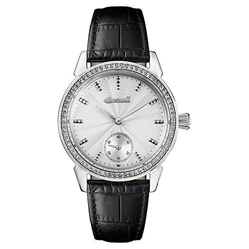 Ingersoll Damen Analog Quarz Uhr mit Leder Armband I03701