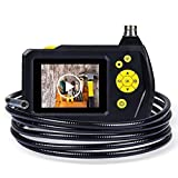 DBPOWER 2.7 Inch Color LCD Screen Endoscope Semi Rigid Inspection Snake...