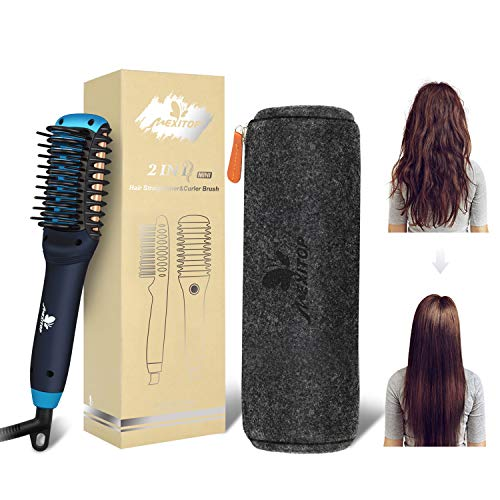 11. Mexitop Hair Straightener Curler, Beard Straightener for Men