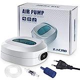 Zacro 2.5w Pompes à Air pour Aquarium,Débit 3L/Minutes,Flux d'air...