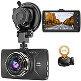 【2021 Nouvelle Version】 CHORTAU Dashcam Voiture GPS Full HD 1080P, Caméra Embarquée Voiture Grand Angle 170°, Écran 3 Pouces - Dash Cam avec Module GPS,...