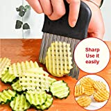 Piokikio Fruit Vegetables Potato Cutter Knife Home Kitchen Tools Graters, Peelers & Slicers