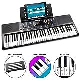 Rockjam 61 Clavier Key Piano Partitions avec stand, Piano Remarque Sticker,...