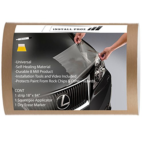 Install Proz Self Healing Universal Clear Paint Protection Bra Hood and Fender Kit (18' x 84')