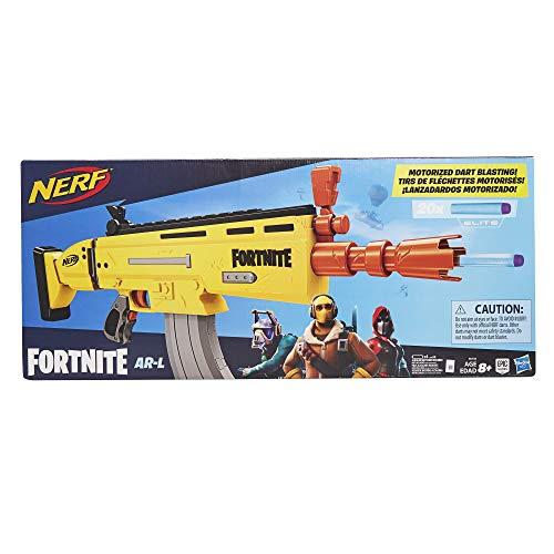 Hasbro AR-L Fortnite Nerf Elite, Blaster con 20 Dardi