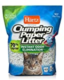 HARTZ Multi-Cat Lightweight Recycled Clumping Paper Cat Litter, 4.3 lbs, White, Model:3270015558