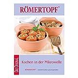 Römertopf 311 51 Mikrowellenkochbuch, Rezeptbuch, Kochen in Der Mikrowelle, Küchenbuch, Papier, weiß, 14.0 x 14.5 x 14.3 cm