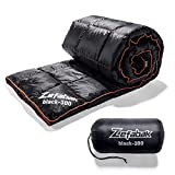 Zefabak Camping Down Blanket with European Standard 90% Down Blend & Puffy 600 Fill Power Waterproof and Warm Duck Down Blanket for Camping Travel Hiking