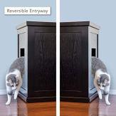 THE-REFINED-FELINE-Cat-Litter-Box-Enclosure-Cabinet-Hidden-Litter-Tray-Cat-Furniture-Large-XLarge-Modern-Style-Espresso-Color