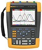 Fluke - FLUKE-190-204/AM 190-204/AM 4 Channel LCD Color ScopeMeter Oscilloscope, 200 MHz Bandwidth, 1.7ns Rise time